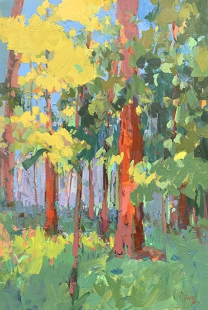 Sunset in the Forest, 2020