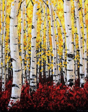 Aspen Fall by Jennifer Vranes