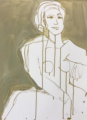 Figure Drawing #14, 2018