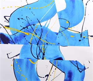 Blue and Yellow Deconstructed Series