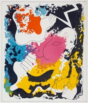 Estampas de Popol Vuh (Plate II), 1943