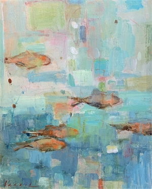 Fish Fandango by Mary Miller Veazie