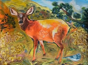 Elk Calf, 2020