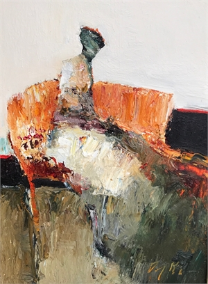 Seated Figure, small II by Danny McCaw