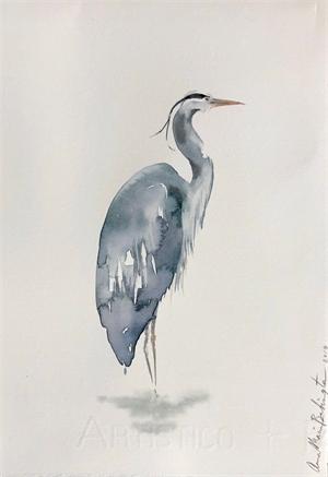 Blue Heron II, 2019