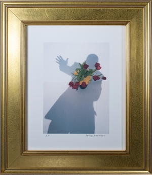 """Self-Portrait Shadow Series - """"Take My Hand, I'm A Stranger in Paradise"""", 2004"""