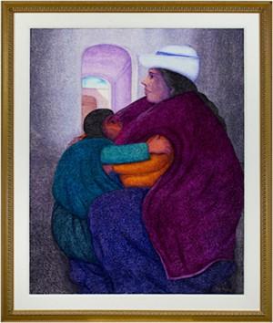 Isidora y su Hija (Isidora & her Daughter), 2001