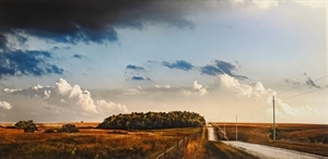 Back Road - The KS Flint Hills by David Zlotky