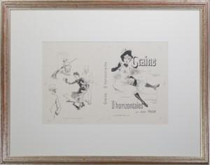 Graine D'horizontales, c1890