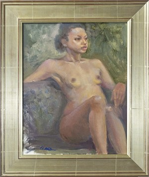 Female Nude, Oct. 2016
