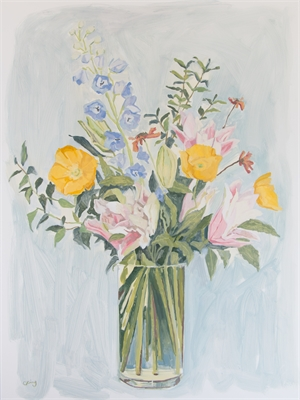 Bouquet with Lilies, 2019
