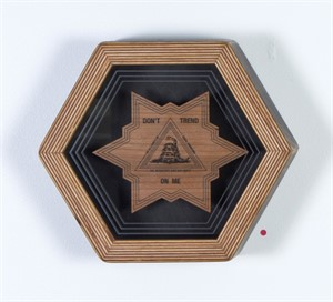 Hex Framed Temple Symbol 3