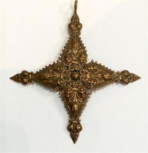 Pendant - Bronze St Agatha Cross 9236, 2019