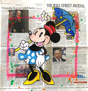 WSJ Series Minnie Mouse and Umbrella , 2019