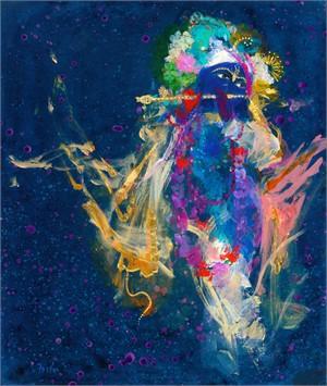Krishna's Golden Flute 4, 2017