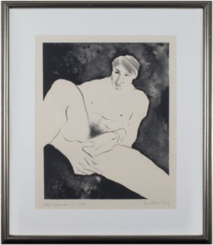 Nude Male/Presentation Proof, 1975