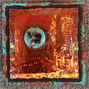 Copper Wall Hangings - Assorted Mini, 2019