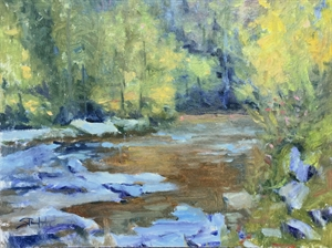 Toccoa River Fall by John Stanford