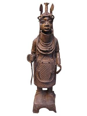 Benin King, Nigeria, c.1900