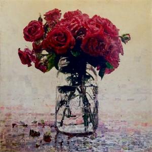 Roses In A Mason Jar, 2017