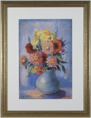 Flowers in Blue Vase, 2006