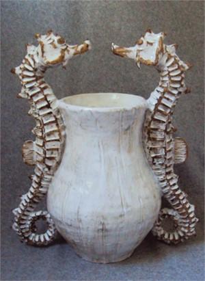 Seahorse Vase