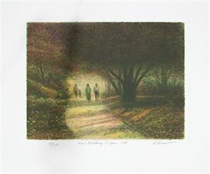 Four Walking Figures (23/285), 1998