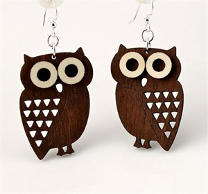 Earrings - Little Hoot 1363