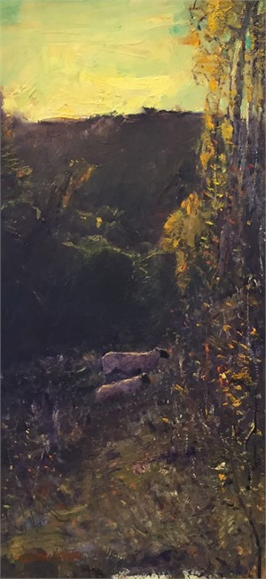 Two Sheep, 2018