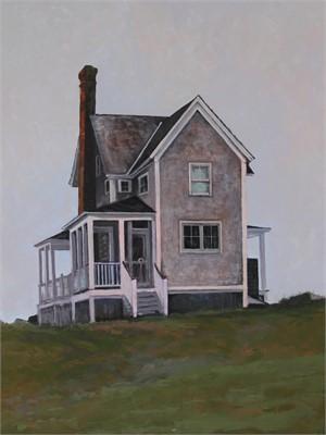 Grey House on Goose Rocks