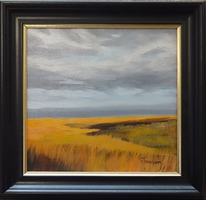 Fall Prairie Grass by Cathie Thompson
