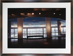 Steinhafel's Double Sky Grand Entrance signed on front lower right (AP-II/1), 2004
