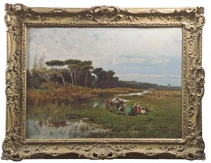 Italian Landscape, c.1895