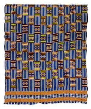 Fabric - Ashanti Tribal Cloth, c. 1930