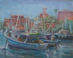Fishing Boats, Santa Margherita