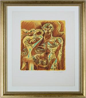 Couple Alchimique from Je Reve (I Dream) Portfolio (H.C. XXV/XXV), 1975