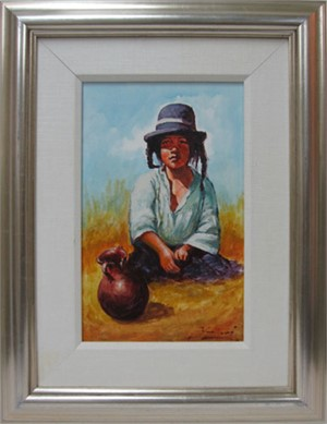 Nina Ponema -Puno (Young Girl From Puno), 1992