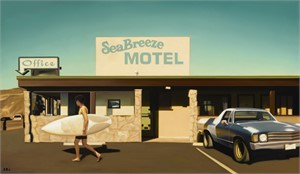 Sea Breeze Motel by Carrie Graber