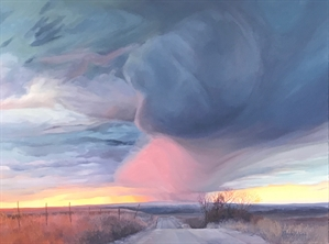 A Storm Brewing by Peggy Lyon