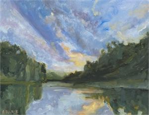 Garrett Lake by Amanda Tanner