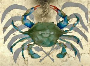 Golden Blue Crab II