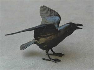 """Small Raven V -- 6"""" (54/999)"""