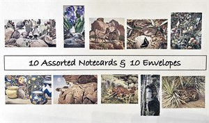 Card - Nicholas Wilson Box of 10 Assorted Images