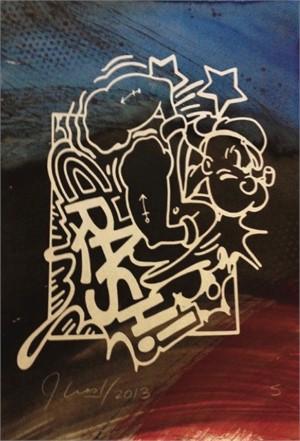 Untitled (Popeye #5), 2013