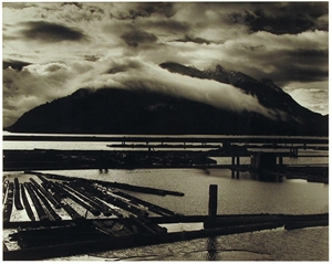 Logging Yard (Vancouver Island), 1973