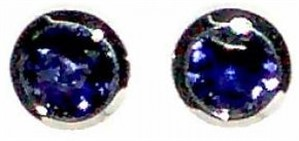 Earrings - Sterling Silver & Iolite JVE3136I