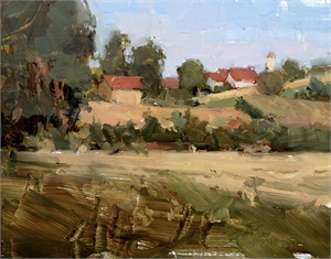 Pentling, Germany (plein air), 2019