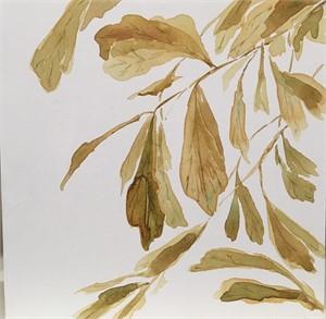 Water Oak Leaves, 2019