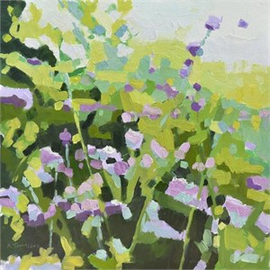 purple wildflowers, 2017