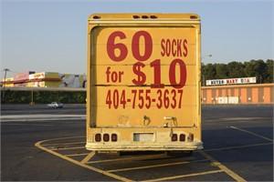 60 Socks for $10 (1/20)